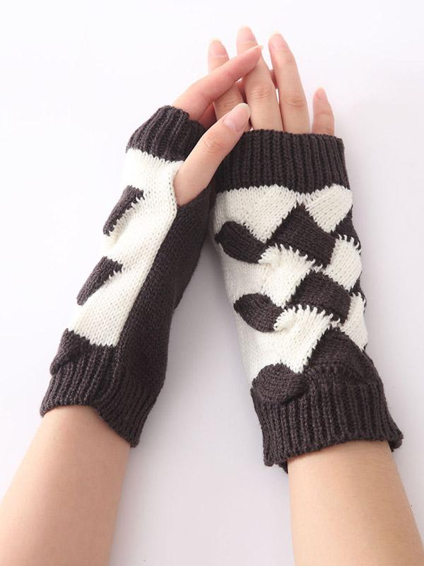 Dooerzi Cute Knitted 5 Colors Sleevelet Accessories