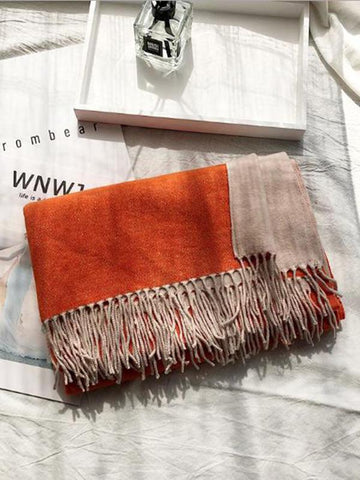 Image of Dooerzi Two-sided Cotton Warmer Scarf