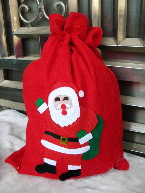 Charpie Applique Candy Bag Gift Pouch Decoration RANDOM COLOR LARGE SIZE