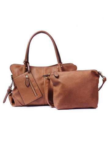 Image of Fashion 2 Pieces Shoulder Bag MUDDY