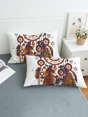 Image of Vivid Pattern Bohemia Printed Twain Pillow Case SAME AS THE PICTURE SMALL SIZE