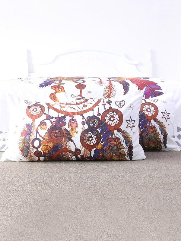 Vivid Pattern Bohemia Printed Twain Pillow Case SAME AS THE PICTURE LARGE SIZE