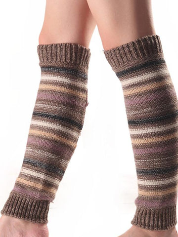 Image of Dooerzi Bohemia 5 Colors Knitting Over Knee-high Stocking