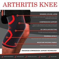 Ultra Compression Sleeve For Knee Arthritis