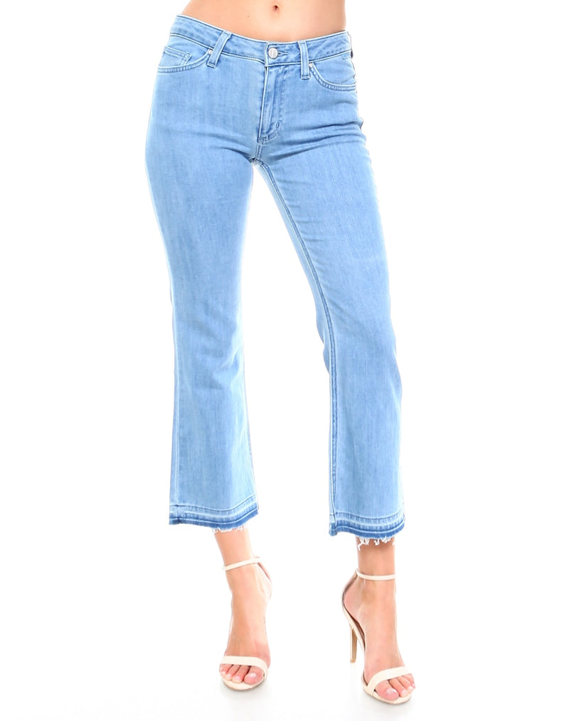 Slim Womens Cropped Flare Fit - Huntington