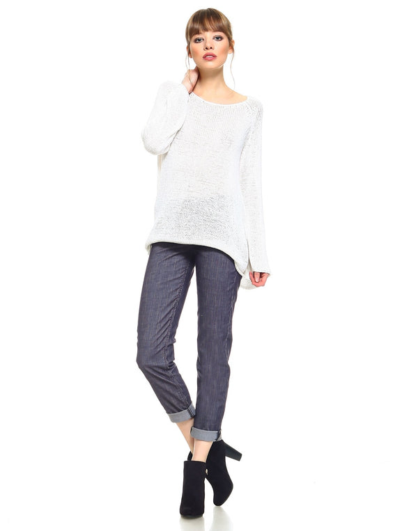 Standard Womens Boyfriend Fit - Charcoal Corduroy