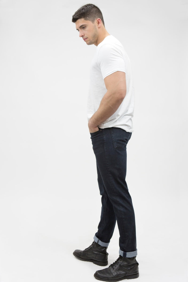 Athletic Mens Slim Fit - Black Pigment