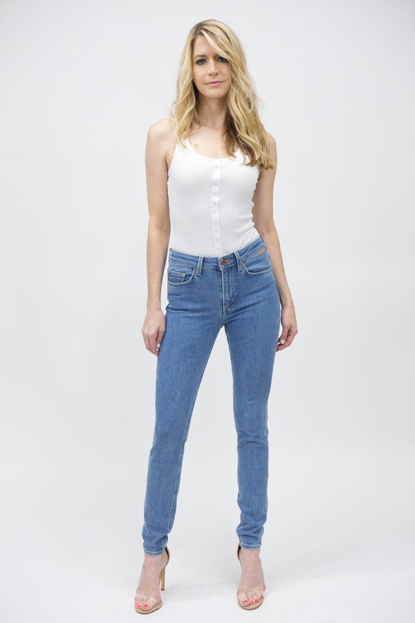 Slim Womens High Waisted Skinny Fit - Fairfax
