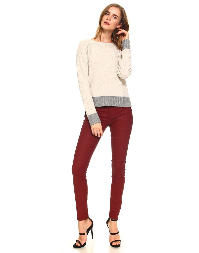 Slim Womens Skinny Fit - Coated Ruby