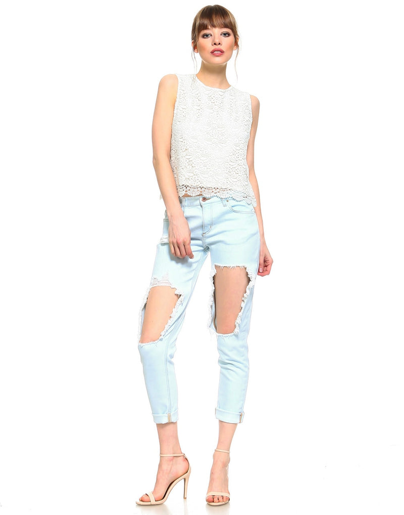 Standard Womens Boyfriend Fit - Melrose 2