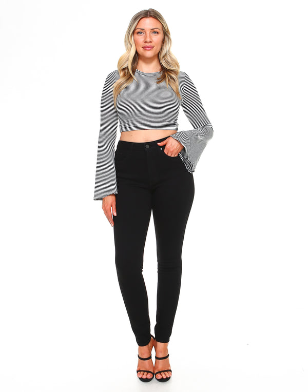 Curvy Womens Highwaisted Skinny Fit - Vine