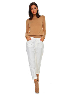 Standard Womens Boyfriend Fit - Off-White Corduroy