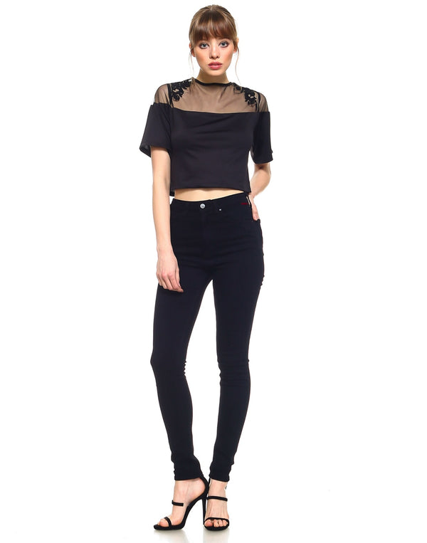 Slim Womens Highwaisted Skinny Fit