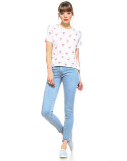 Slim Womens Cropped Skinny Fit - Hamilton Blue