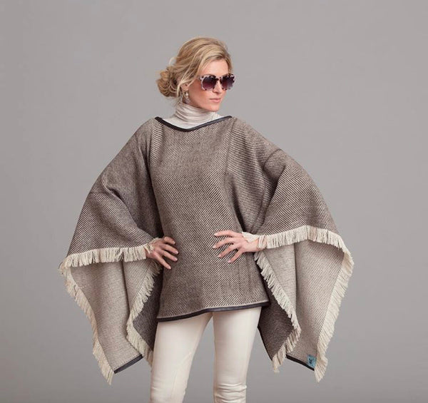 Double Faced Poncho