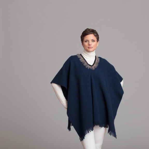 Featherweight Cloth Poncho