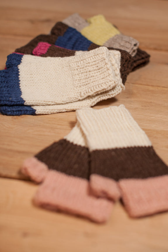 Mittens: Fingerless