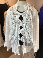 White Lace Jacket