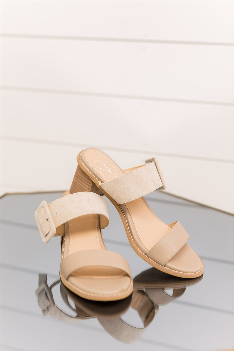 Holland Taupe Heels