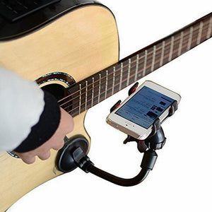 Guitar Phone Holder Stand