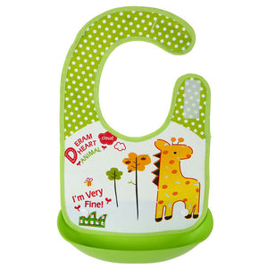 Playful Practical Waterproof Baby Bibs