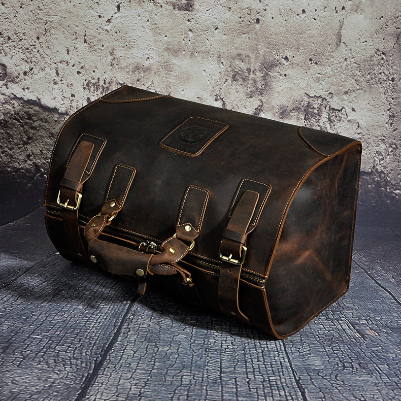 Genuine Leather Vintage Duffle Bag