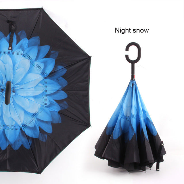 Innovative Reverse Folding Umbrella