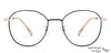 John Jacobs Golden Eyeglasses 145453