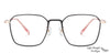 John Jacobs Golden Eyeglasses 145465
