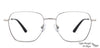 John Jacobs Grey Eyeglasses 145496