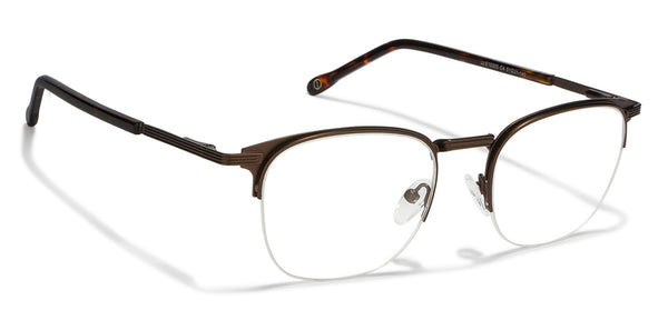 John Jacobs Brown Eyeglasses 118059