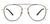 John Jacobs Golden Eyeglasses 128662 - Lenskart
