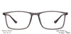 John Jacobs Grey Eyeglasses 135467