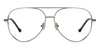 John Jacobs Grey Eyeglasses 136033