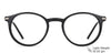 John Jacobs Black Eyeglasses 137736