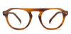 John Jacobs Brown Eyeglasses 142903