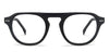 John Jacobs Black Eyeglasses 142904