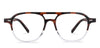John Jacobs Brown Eyeglasses 142899