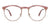John Jacobs Rose Gold Eyeglasses 146390