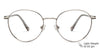John Jacobs Grey Eyeglasses 143701
