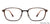 John Jacobs Brown Eyeglasses 143188