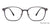 John Jacobs Grey Eyeglasses 143189