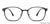John Jacobs Black Eyeglasses 143190