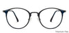 John Jacobs Blue Eyeglasses 143202