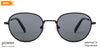 John Jacobs Black Sunglasses 136407