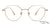 John Jacobs Rose Gold Eyeglasses 143145 - Lenskart