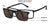 Lenskart Air Magnetic Clip On Black Eyeglasses 145981