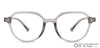 Lenskart Air Grey Eyeglasses 142972