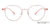 Lenskart Air Pink Transparent Eyeglasses 143738 - Lenskart