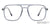 Lenskart Air Grey Transparent Eyeglasses 143766 - Lenskart